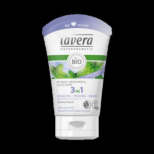 Lavera Facial Care Καθαρισμός Προσώπου 3 σε 1