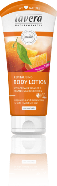 Lavera Revitalising Body Lotion - Κρέμα Σώματος Με Βιολογικό Πορτοκάλι&Ιπποφαές
