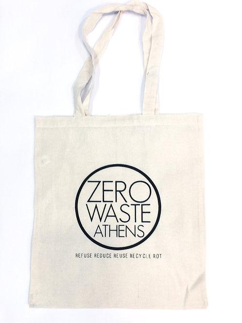 Tote Βαμβακερή Τσάντα - Zero Waste Athens
