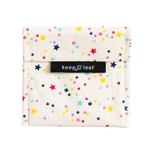 Keep Leaf Large Baggie Stars - Θήκη Μεταφοράς Φαγητού / Σνακ