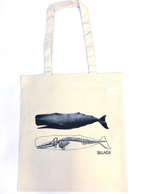 Tote Βαμβακερή Τσάντα - Protect The Whales