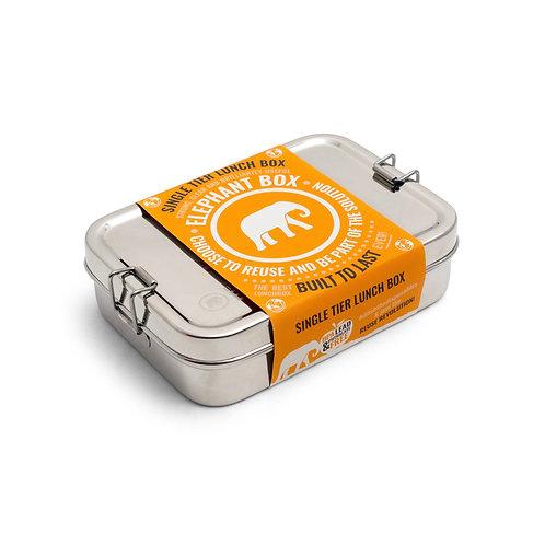Elephant Box Single Tier Lunchbox - Φαγητοδοχείο Από Ανοξείδωτο Ατσάλι