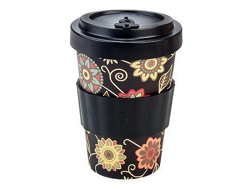 Eco Bamboo Cup - Vintage Black