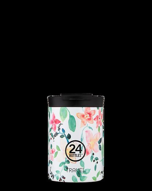 24 Bottles Travel Tumbler Little Buds - Ποτήρι Θερμός 350ml