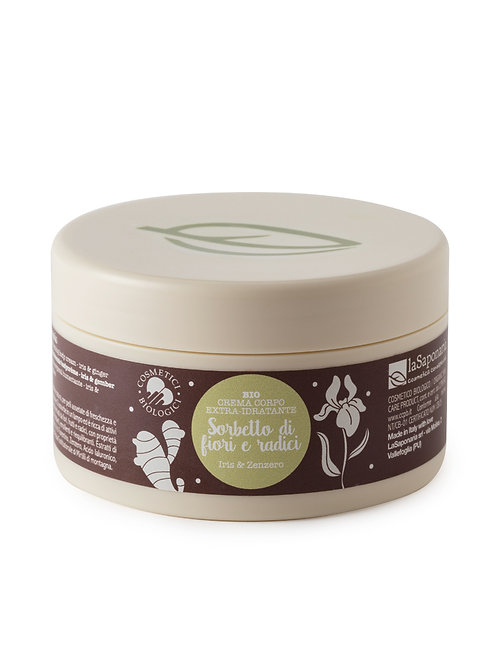 Moisturizing Body Cream Iris & Ginger - Ενυδατική Κρέμα Σώματος