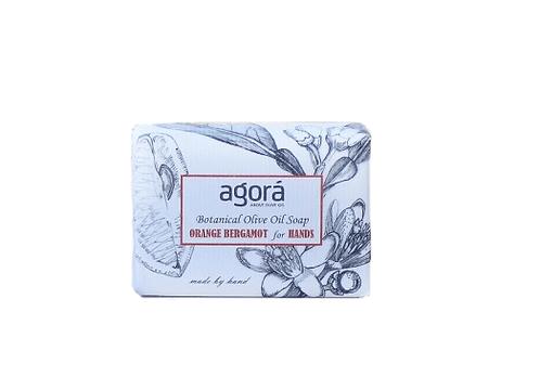 Agora Botanical Olive Oil Soap - Orange Bergamot For Hands