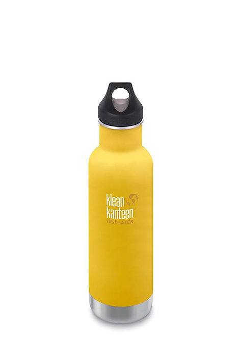 Klean Kanteen Insulated Classic - Μπουκάλι Θερμός Lemon Curry 592ml