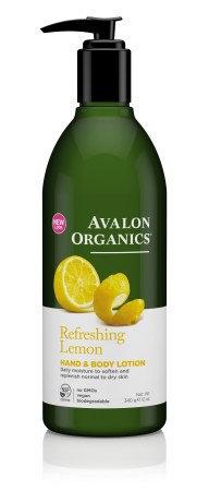 Avalon Organics Hand & Body Lotion Lemon - Γαλάκτωμα Σώματος & Χεριών Λεμόνι