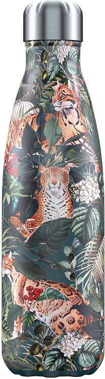 Μπουκάλι Θερμός Chilly's - Tropical Leopard 500ml