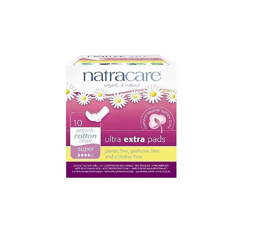 Natracare Ultra Extra Pads Super 10 τμχ