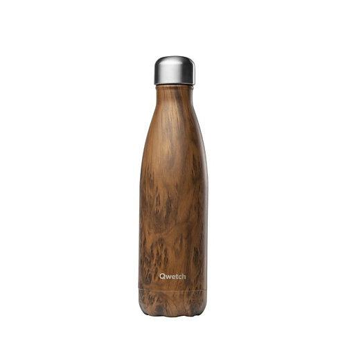 Μπουκάλι Θερμός Qwetch - Wood 500ml