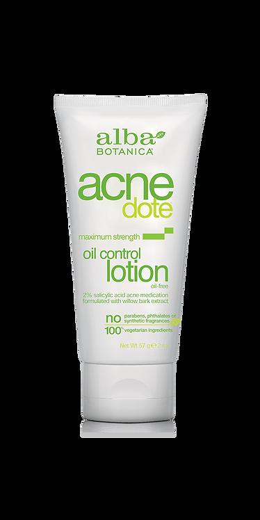 Alba Botanica Acnedote Oil Control Lotion - Λοσιόν Ελέγχου Λιπαρότητας