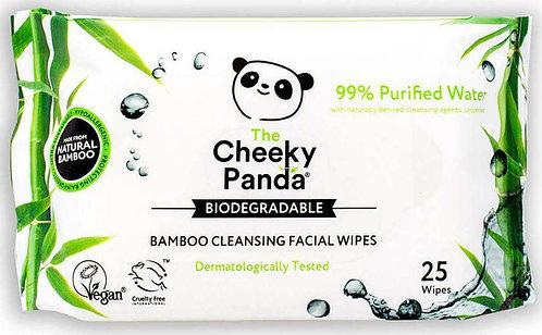 Cheeky Panda - Οικολογικά  Μαντηλάκια Προσώπου Από Ίνες Μπαμπού Natural
