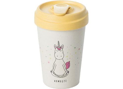 Eco BambooCup - Magic Namaste Unicorn