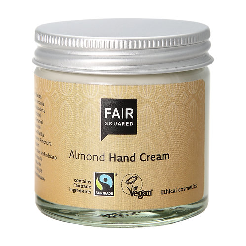 Fair Squared Hand Cream Almond Sensitive - Κρέμα Χεριών Αμύγδαλο Plastic Free