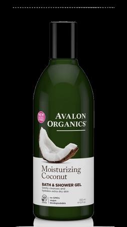 Avalon Organics Shower Gel Coconut - Αφρόλουτρο Με Καρύδα