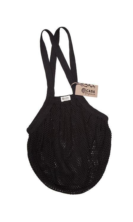 Starnet Bag / Τσάντα Από Οργανικό Βαμβάκι Με Πυκνό Δίχτυ - Black