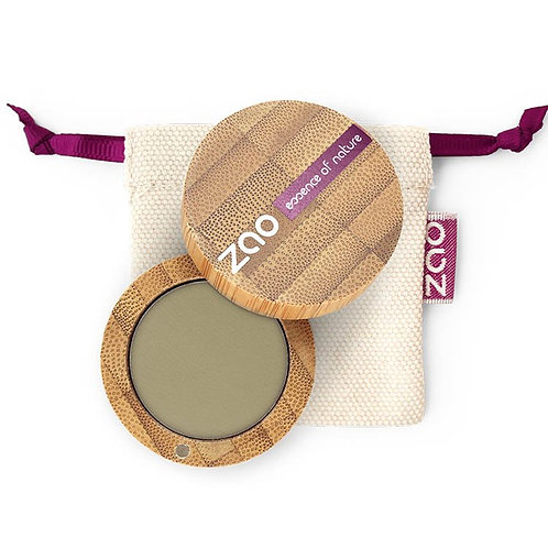ZAO Eyeshadow Matt - Βιολογική Σκιά 207 Olive Green