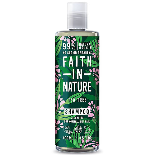 Faith In Nature Shampoo Tea Tree - Σαμπουάν Με Τεϊόδενδρο