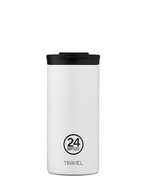 24 Bottles Travel Tumbler Ice White - Ποτήρι Θερμός 600ml