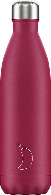 Μπουκάλι Θερμός Chilly's - Matte Pink 750ml