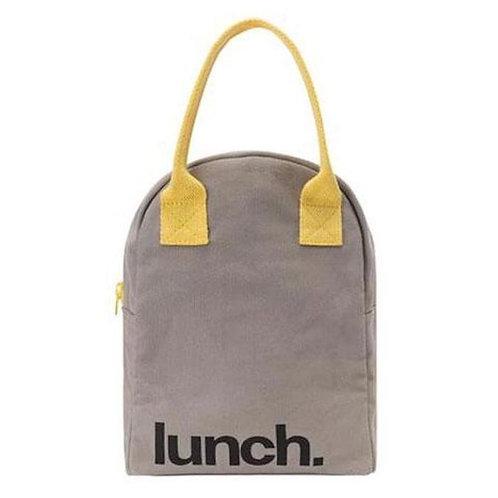 Fluf Zipper Lunch Bag Lunch - Τσάντα Φαγητού Από Οργανικό Βαμβάκι