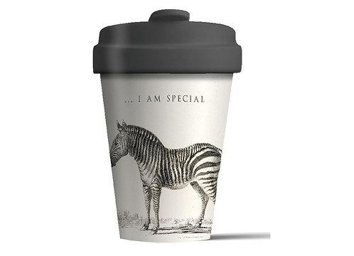 Eco BambooCup - Special Zebra