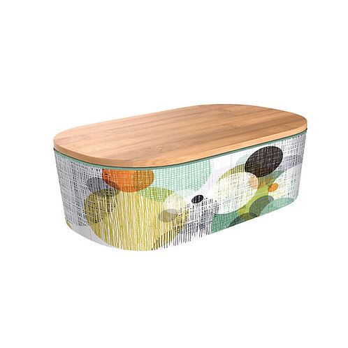 Δοχείο φαγητού Bamboo Deluxe - Circles and Screens