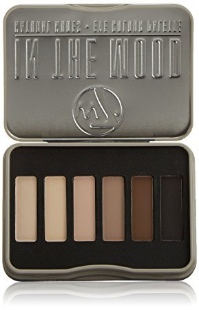 W7 In The Mood - Eye Colour Palette