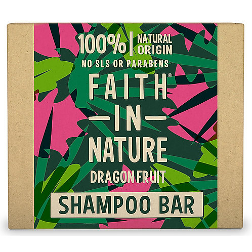 Faith in Nature Shampoo Bar Dragon Fruit - Στερεό Σαμπουάν