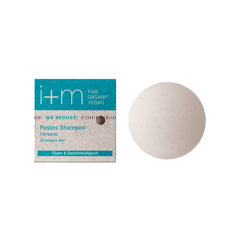 i+m Solid ShampooVerbena  - Στερεό Σαμπουάν 100% Φυσικό, Βιολογικό