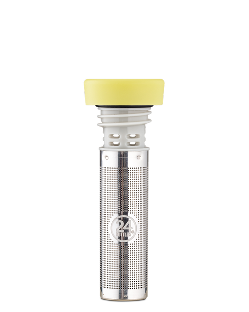 24 Bottles Infuser Lid Light Yellow - Kαπάκι Ιnfuser / Φίλτρο