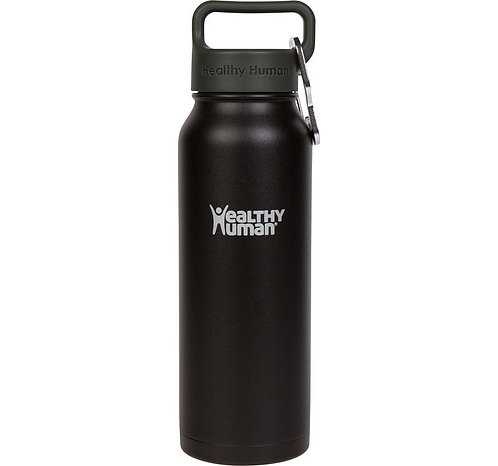 Healthy Human 21oz Stein - Pure Black Μπουκάλι Θερμός 621ml