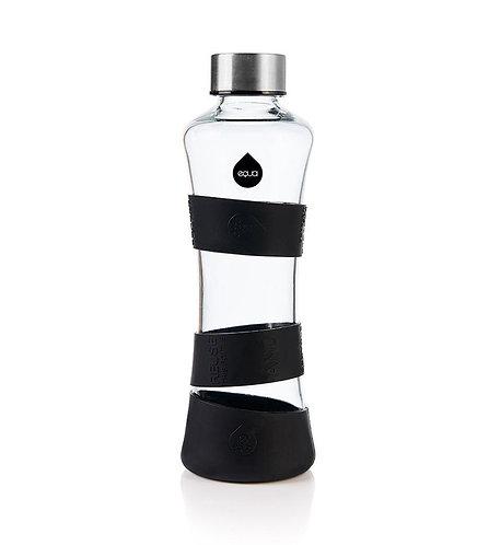 Equa Γυάλινο Μπουκάλι Νερού CMYK Squeeze Collection - Black Edition 550ml