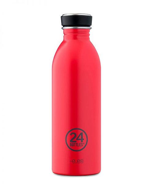 24 Bottles Urban - Hot Red 500ml