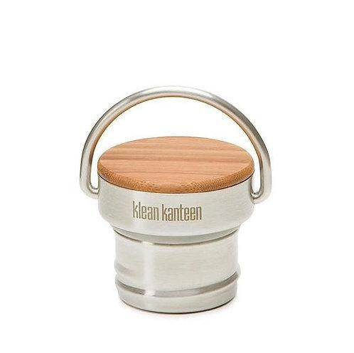 Klean Kanteen Stainless Bamboo Cap - Ανοξείδωτο Πώμα με Βamboo