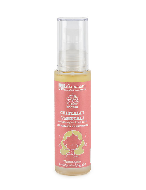 Hair Treatment Vegetable Crystals - Φυσική Εναλλακτική Στη Σιλικόνη Μαλλιών