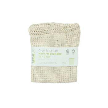 Βιολογικό Βαμβακερό Πουγκί Mesh / Δίχτυ 26x32cm