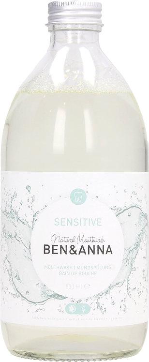 Ben & Anna Sensitive Mouthwash - Στοματικό Διάλυμα Ιδανικό Για Ευαίσθητα Δόντια