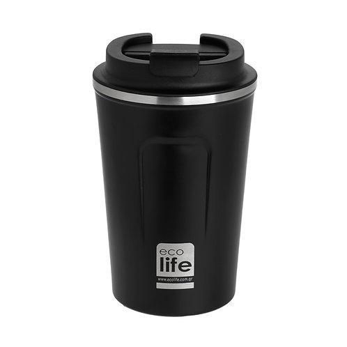 Εcolife Coffee Thermos 370 ml - Dark Grey