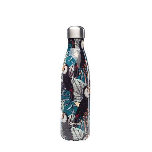 Μπουκάλι Θερμός Qwetch - Tropical Toucan 500ml