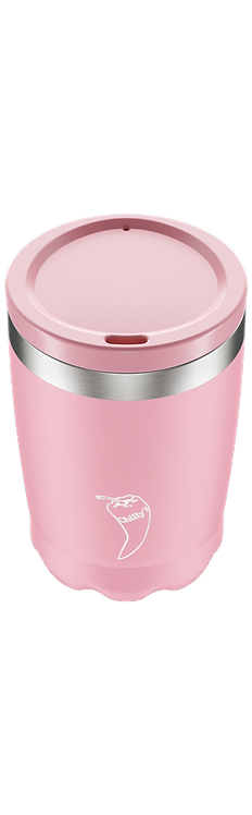 Coffee Cup Chilly's - PASTEL PINK   340ML