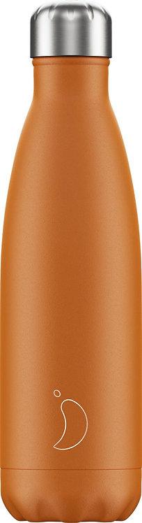 Μπουκάλι Θερμός Chilly's - Burnt Orange 500ml