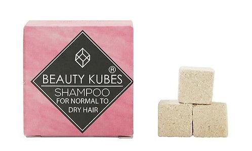 Beauty Kubes Zero Waste Organic Shampoo - Normal To Dry Hair, Plastic Free