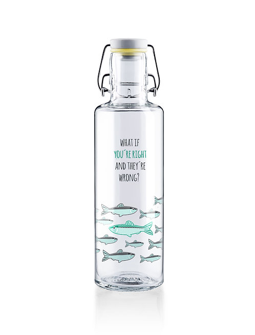 Soulbottle Γυάλινο Μπουκάλι 0.6L - You're Right