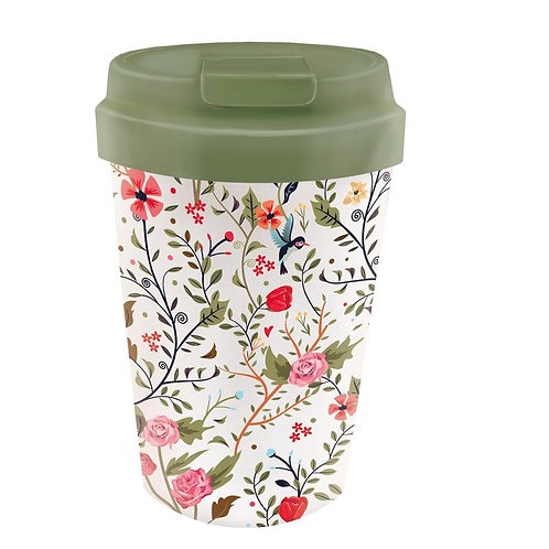 Bioloco Plant Easy Cup - Flowers And Birds