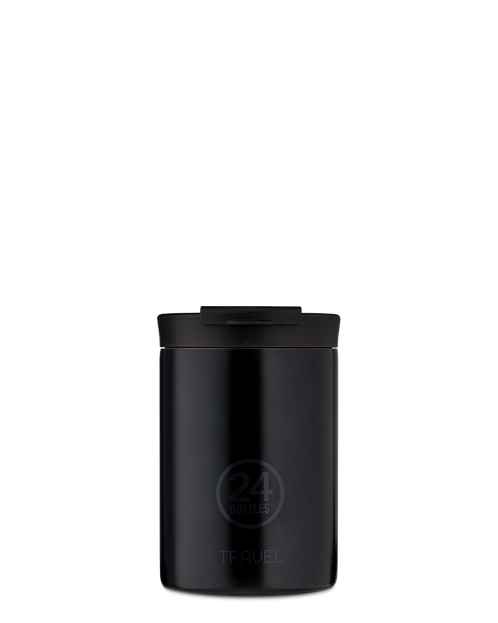24 Bottles Travel Tumbler Tuxedo Black - Ποτήρι Θερμός 350ml