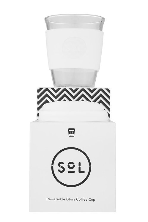 Sol Cup – White Wave 12oz