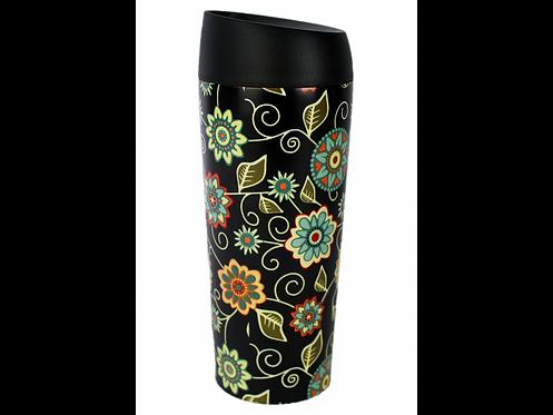 Well Mug Vintage Black - Ποτήρι Θερμός Leakproof 450 ml