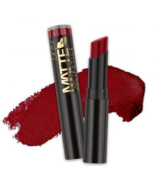 L.A. Girl Matte Flat Velvet Lipstick - Spicy